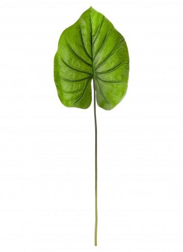 Frunza decorativa artificiala Diamond Leaf Verde, H30 cm