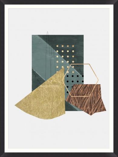 Tablou Framed Art Geometric Prints II