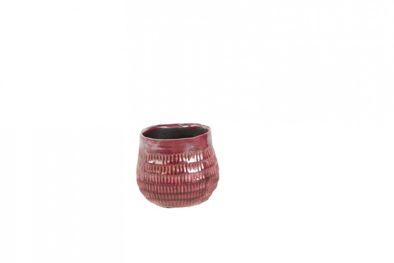 Ghiveci ceramic Atmosphere Earth Red, Ø 12 cm