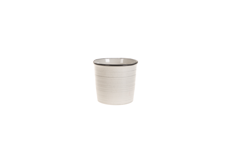Set 6 ghivece ceramice Atmosphere Grey, Ø 15 cm