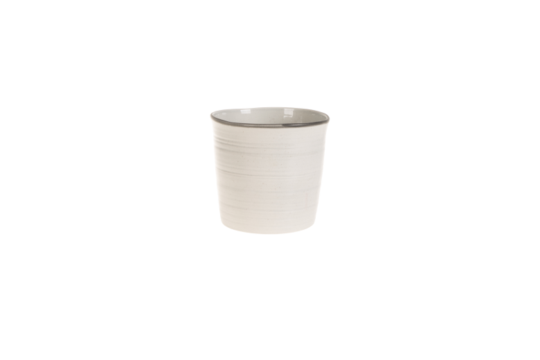 Set 4 ghivece ceramice Atmosphere Grey, Ø 18 cm