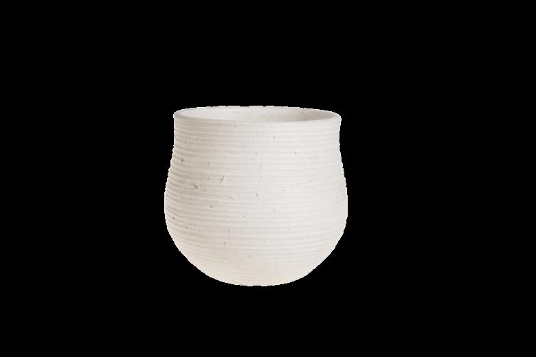 Ghiveci ceramic Atmosphere White, Ø 22,5 cm