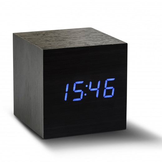 Ceas inteligent Cube Click Clock Black/Blue