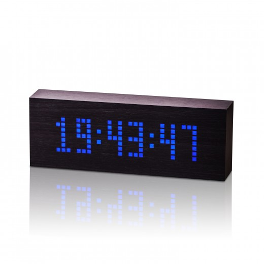 Ceas Message Click Clock Black