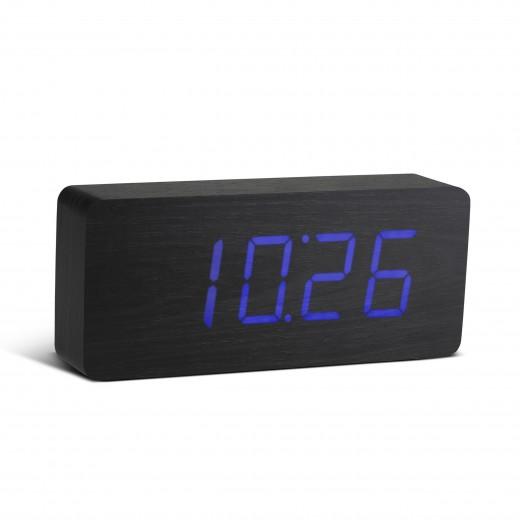 Ceas de camera Slab Click Clock Black