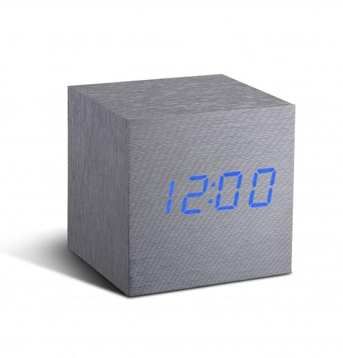Ceas inteligent Cube Click Clock Aluminium/Blue