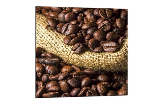 Tablou Sticla Glasspik Coffee 1A, 20x20 cm