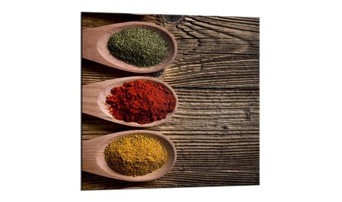 Tablou Sticla Glasspik Spice 3C, 20x20 cm