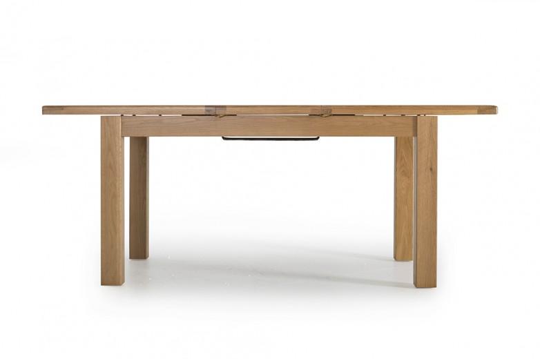 Masa din lemn de stejar Hampshire, L150-195xl90x h77 cm