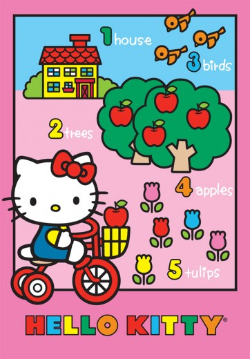 Covor Disney Kids Hello Kitty 752, Imprimat Digital