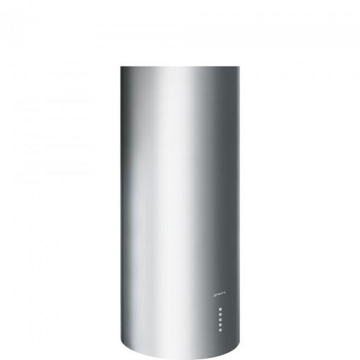 Hota decorativa cilindrica KIR37XE, Inox, 37 cm, SMEG