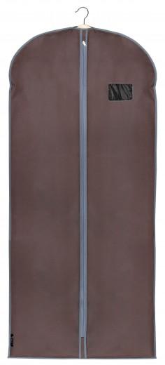 Husa pentru haine cu fermoar, Classic XL Maro, l60xH135 cm