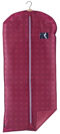 Husa pentru haine cu fermoar, Ella XL Bordeaux, l60xH135 cm