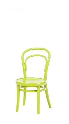 Scaun pentru copii, din lemn de fag Petit Green, l32xA40,5xH63 cm