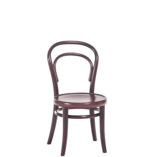 Scaun pentru copii, din lemn de fag Petit Brown, l32xA40,5xH63 cm