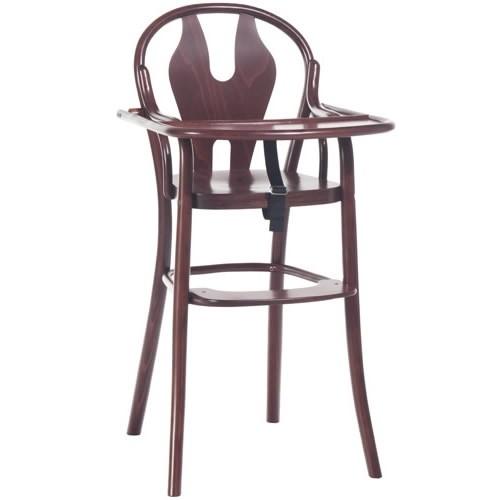 Scaun pentru copii, din lemn de fag Petit 114 Brown, l48xA57xH93 cm