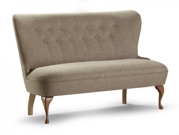 Canapea fixa tapitata cu stofa Envy Beige