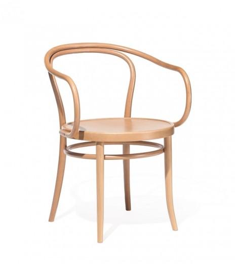 Scaun din lemn de fag 30 Natural, l54,5xA57xH78 cm