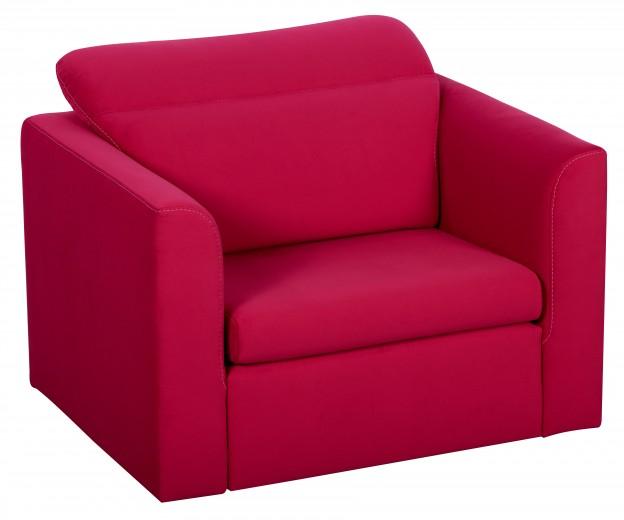 Fotoliu extensibil Inez Red, l116xA93xH100 cm