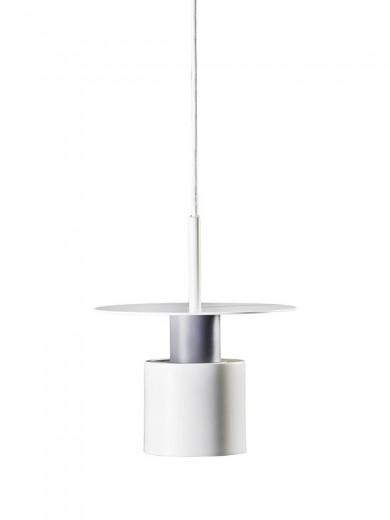 Lustra Kolorit White Matt / Grey, Ø 20 cm