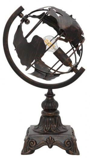 Lampa de birou din metal World Industry Cupru