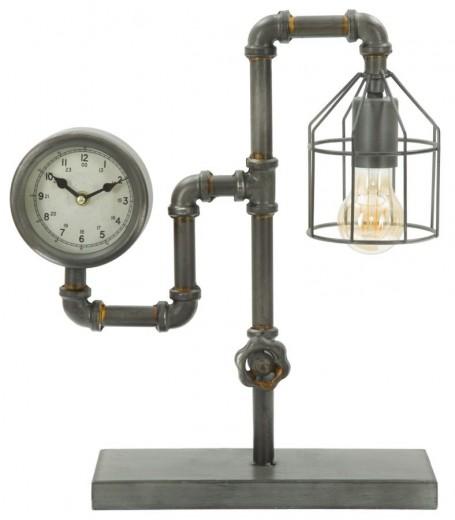 Lampa de birou Industry Double Dark Grey