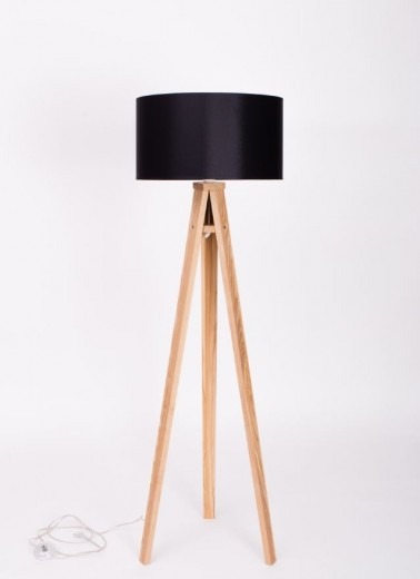 Lampadar Lamp Wanda Black / Ash-Transparent
