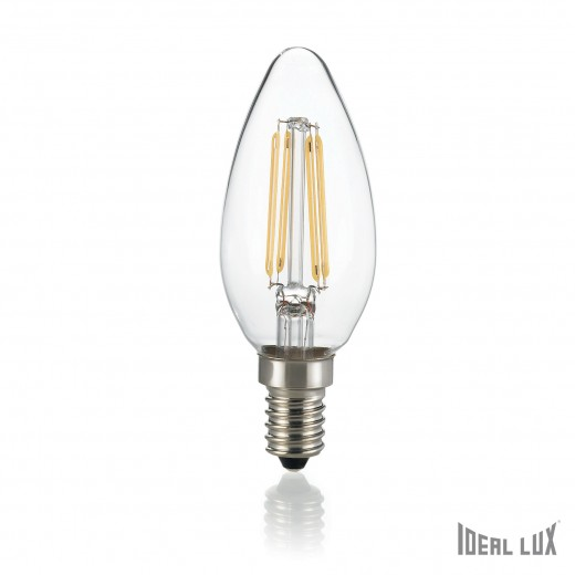 Bec LED E14 Oliva-Transparent