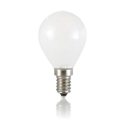 Bec LED E14 Sfera-Alb
