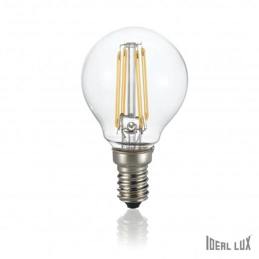 Bec LED E14 Sfera-Transparent