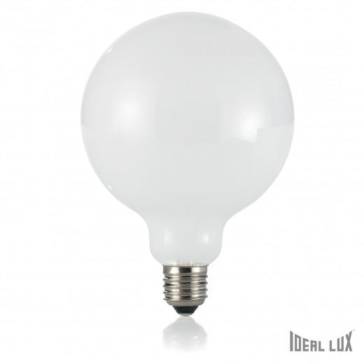 Bec LED 8W Globo D12-Alb