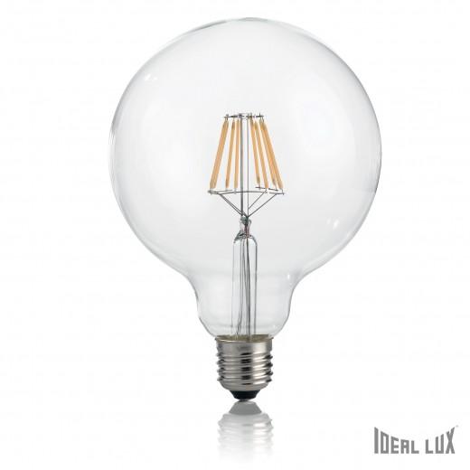 Bec LED 8W Globo D12-Transparent