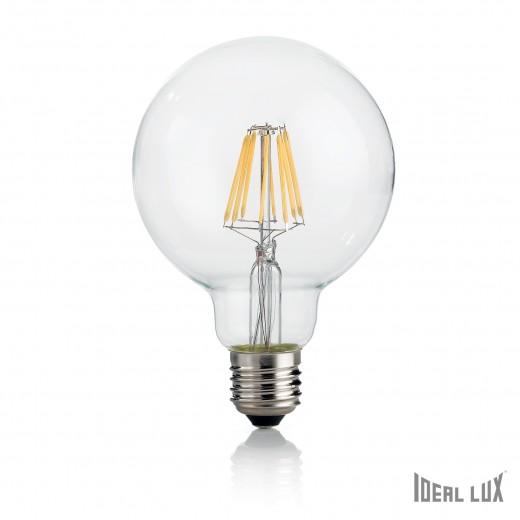 Bec LED 8W Globo D95-Transparent
