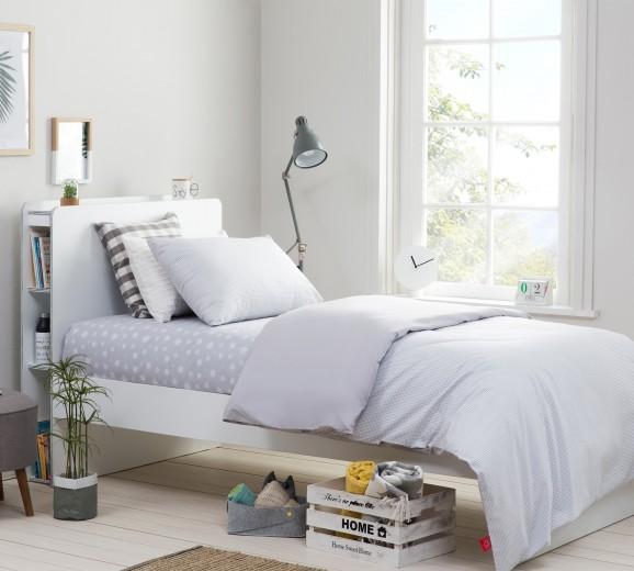 Lenjerie de pat copii bumbac Calm Light Blue