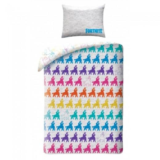 Lenjerie de pat copii Cotton Fortnite FTN022-200 x 140 cm