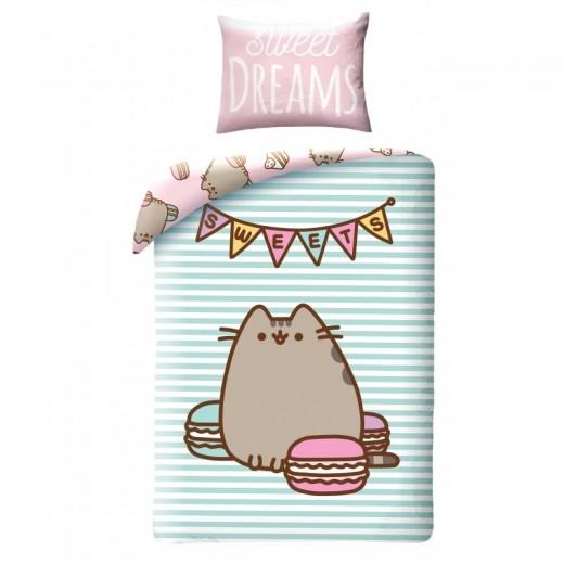 Lenjerie de pat copii Cotton Pusheen PUS-033BL