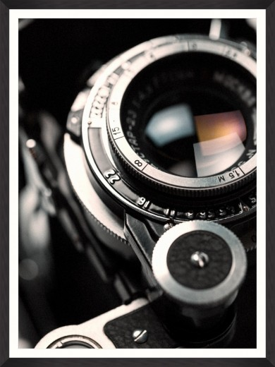 Tablou Framed Art Lens Closeup II