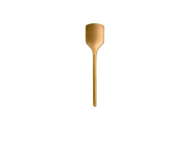 Lingura din otel Peili Brass 330436, L14xl3 cm, Zone Denmark