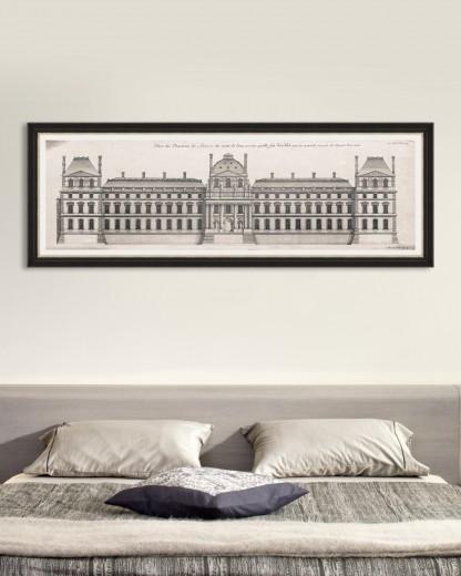 Tablou Framed Art Louvre Façade