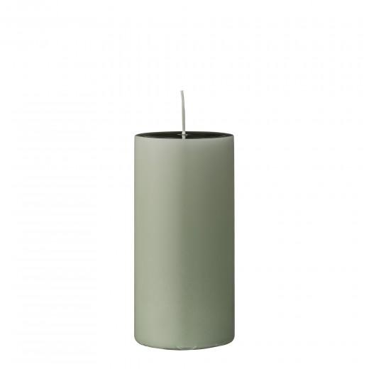 Lumanare  Candle  Green Ø7xH15 cm
