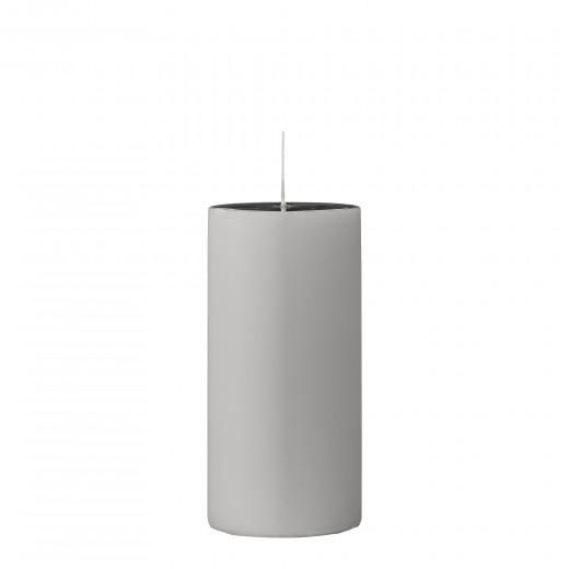 Lumanare  Candle  Grey Ø7xH15 cm