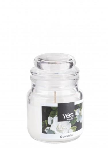 Lumanare parfumata Jug Alb, Ø6xH8 cm
