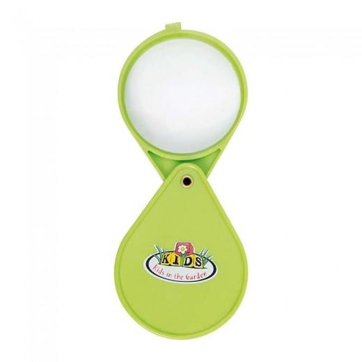 Lupa pentru copii Magnify Lime, L6,5xl1,8xH15,4 cm