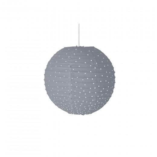 Lustra Lamp Paper Grey Ø20xh250 cm