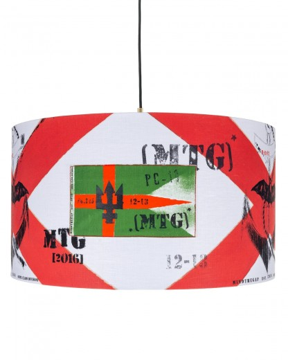 Lustra Naval Flags Multicolor, Ø35xH22 cm