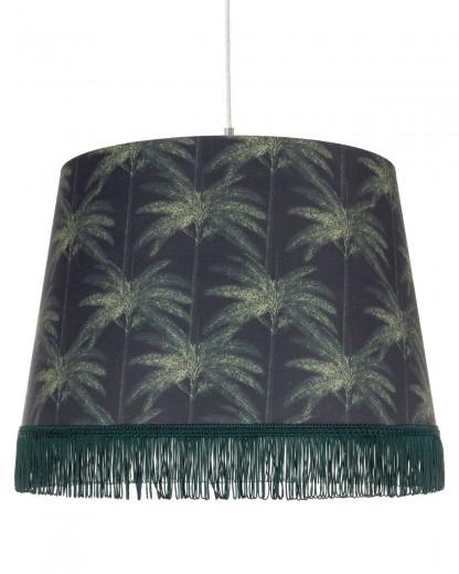 Lustra Ornamental Palms Dark Verde inchis, Ø35xH25 cm