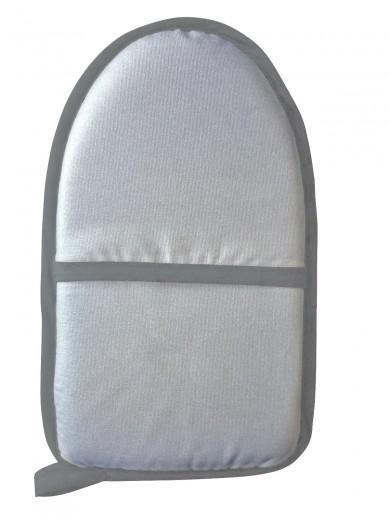 Manusa pentru calcat din poliester, Cushion Gri, L24xl15 cm