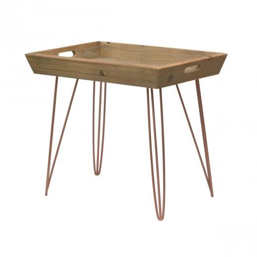 Masa de cafea din lemn de brad, Portofino F053