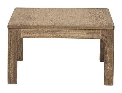Masa de cafea din lemn si furnir Negro 41 Oak, L80xl80xH45 cm