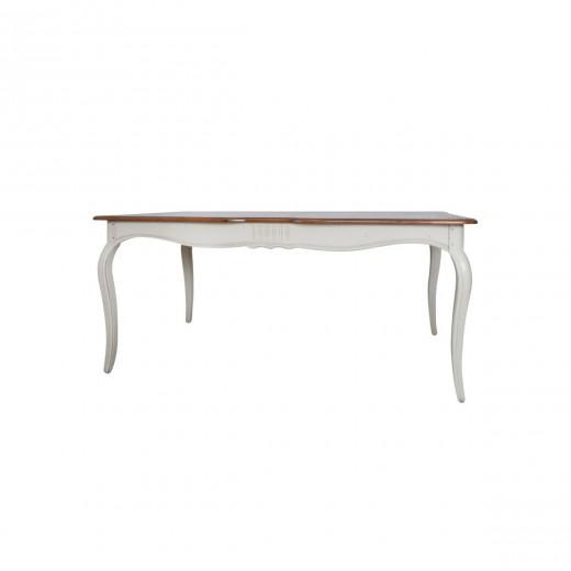 Masa din lemn de mesteacan, Verona VE810, L168xl103xh77 cm